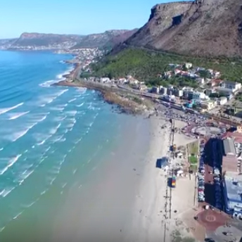 Check out Muizenberg from the air