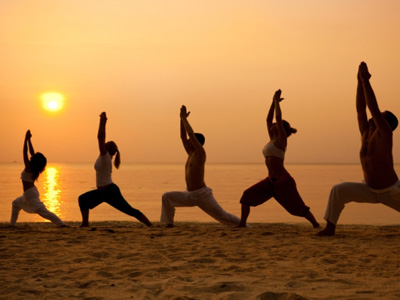 yoga to invigorate the body and calm the mind