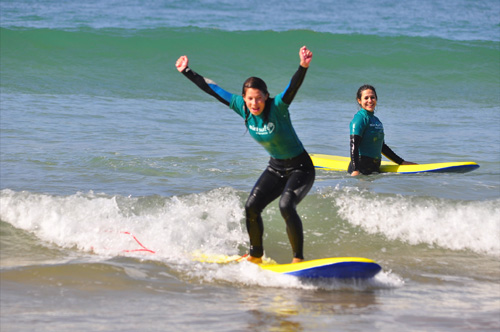 Surf Lessons in Muizenberg
