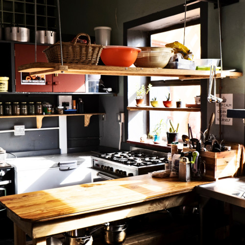 Sun Drenched Kitchen 2
